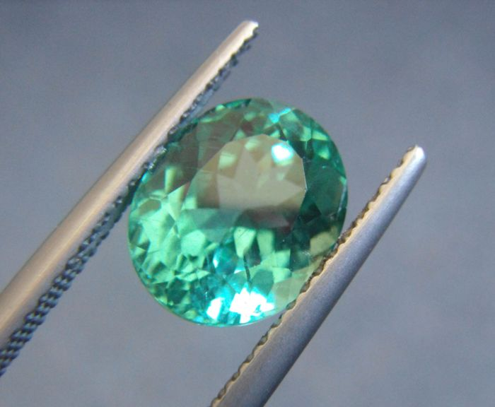 Apatite Blue Green  - 3.39 ct