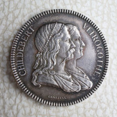 "France – Token ""Hôpitaux Civils de Lyon, Conseil d'Administration"" nd (1860-1880) by Dantzell – Silver"