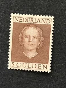 "The Netherlands 1949 – Queen Juliana ""Face forward"" – NVPH 536"