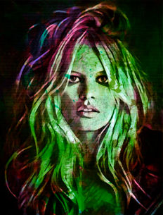 Felix von Altersheim - Claudia Schiffer Pop Art PUR