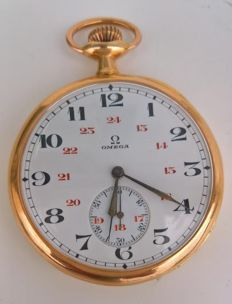 Omega – Men's Pocket Watch – circa 1920