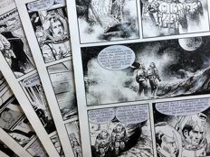 Vercelli, Gino - 5 Original pages - Nathan Never