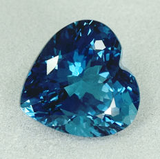 London blue topaz - 11.22ct