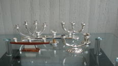 Unknown designer - lot with 6 candlesticks