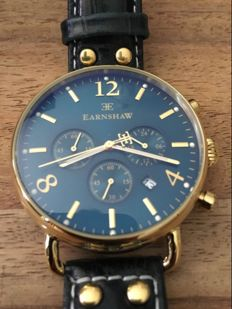 Thomas Earnshaw Chronograph Investigator – men's wristwatch – 2015.