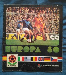 Panini - Euro 1980 - Complete Album except the Badge from England.