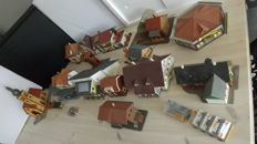 Faller/ Kibri / Vollmer H0 - lot of various neat buildings including loose figures.