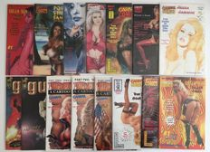 Collection Of Carnal Comics / London Night - US Adult Comics With 3 Photo Variant Covers - 1st Print - x15 SC - (1994/1998)