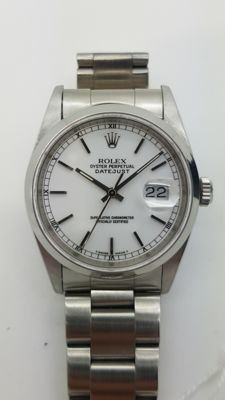 Rolex – Datejust – 16200, Unisex wristwatch – 2000-2010.