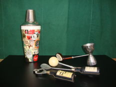 Branded - Barman Set - 60's Golf Set
