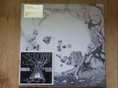 "Radiohead "" A Moon Shaped Pool "" double LP & "" The Daily Mail "" promo cdr."