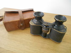 High Power Prisma Paris binoculars - WWI French officer