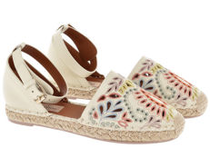 Valentino Garavani - embroidered espadrilles sandals