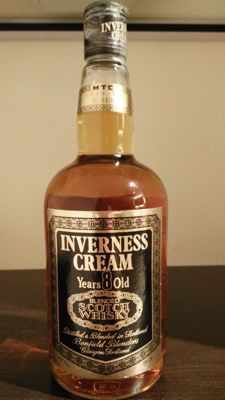 Bonfield Blenders Inverness Cream 8 Years Old - rare old bottle 75cl