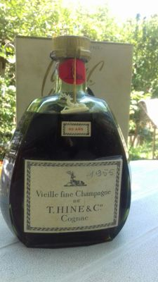 cognac T. Hine & c° . 60 years old - Including original box