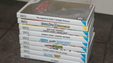 Nintendo Wii Games with Zelda Donkey Kong and others