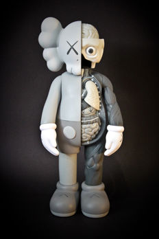 KAWS Companion - Grey flayed (dissected)