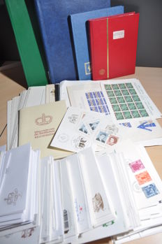 Liechtenstein – Batch including blocks, among others, First Day Covers and series.