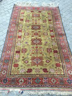 Antique handmade Anatolian Turkish carpet - 130 x 220.