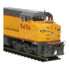 Spectrum by Bachmann H0 - 86004 - Diesel locomotive GE dash 8-40CW wide cab of the Union Pacific