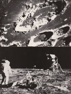 NASA - Apollo/Surveyor 5 moon exploration - 1967–1969