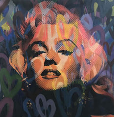 Felix von Altersheim - Marilyn Monroe Love Pop Art