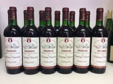 1987 Domaine Moureou, Madiran, France , 12 bottles 0,75l