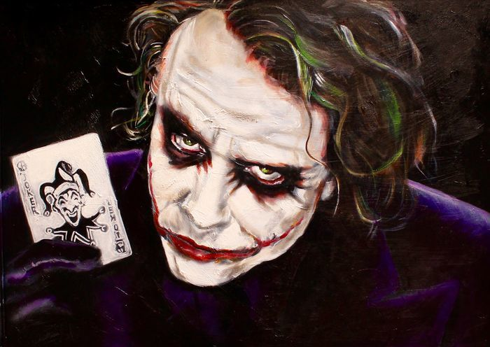 Stephan evenblij the joker back heath ledger catawiki for Stephan evenblij