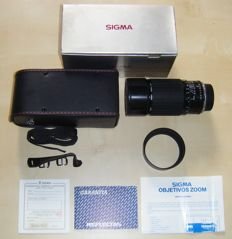 SIGMA 75-200mm f/2.8-3.5 ZOOM objective