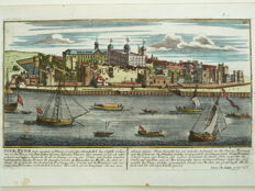 Londen, Tower; Georg Kilian - Tour, Towr (...) - ca. 1700