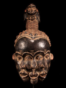 Monkey mask - BULU - Cameroon