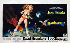 Robert E. McGinnis - Barbarella (Jane Fonda) - 1968