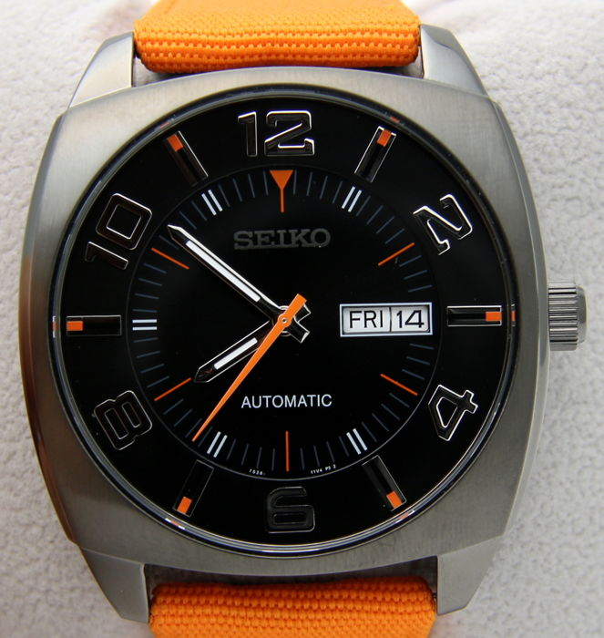 "Seiko – Automatic 21 Jewels ""Orange Band"" – Men's"