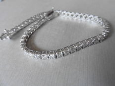 18k Gold Diamond Tennis Bracelet – 4.00ct