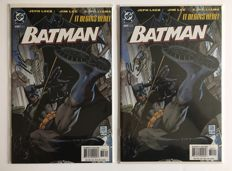 DC Comics - Batman #608 - Rare Limited Edition Signed And Numbered Set - Jim Lee Signature / Jeph Loeb Signature 2x SC - 1st Print - (2001)