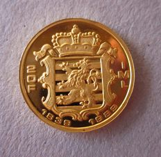 Luxembourg - 20 francs 1989, '150th Anniversary of Independence' - gold