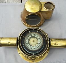 Observator - large antique compass with compass house