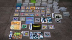 Lot of 30 Nintendo GameBoy Games with Mario Games  Donkey Kong and others