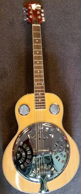 New ChS Spider Resonator, colour natural with bag