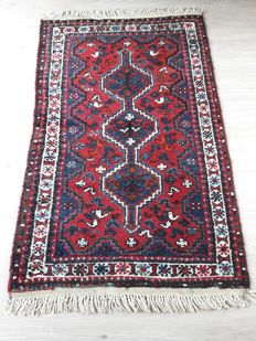 Very Beautiful Hand-knotted Persian - Shiraz 163cm x 102cm