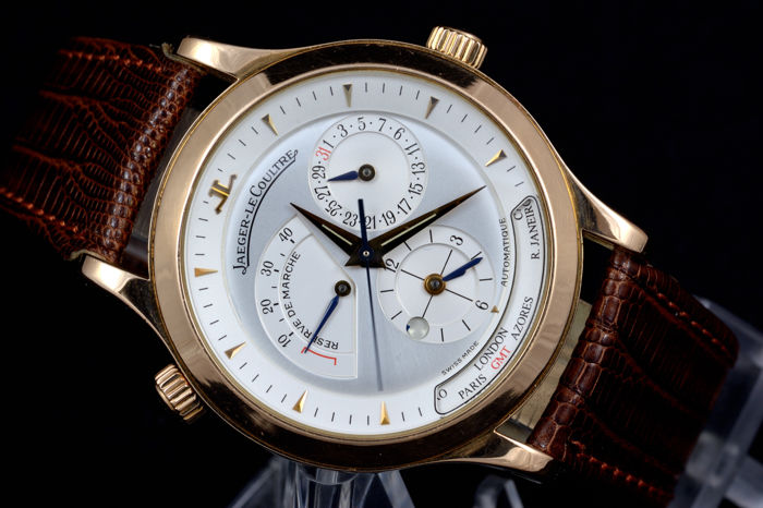 c4bd0f992fd Jaeger-LeCoultre — Master Control Geographic 18k Rose Gold — Ref 142.2.92 —