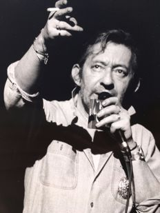 Unknown - Serge Gainsbourg - Zenith de Paris - 1989