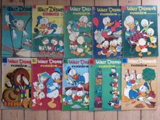 Walt Disney's Comics and Stories - 10 issues - sc - first print (1952/1956)