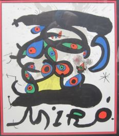 2 x Joan Miró - Colour Lithographs