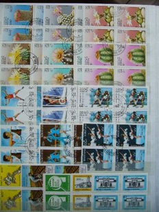 World Theme - Collection in 4 themed binders, including sports, fauna and flora