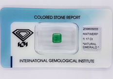 Colombian Emerald –  1.17 ct  –  NO RESERVE