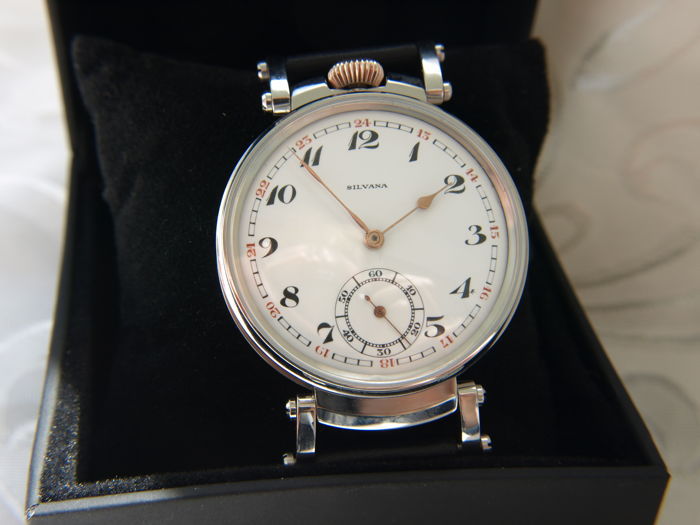 42 Silvana - men's marriage wristwatch - ca 1915