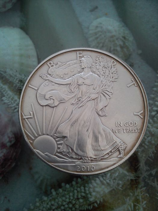 Liberty - 1 oz proof silver dollar