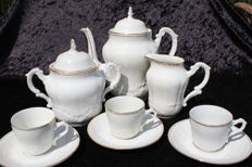 J.C. Limoges France – 27 piece coffee set - Porcelaine de Limoges