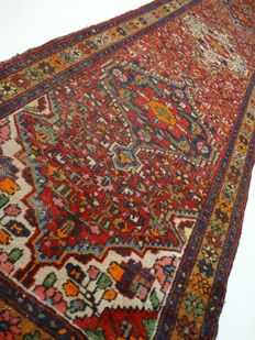 Lilihan Hamadan – 404 x 104 cm. – beautiful vintage Persian rug